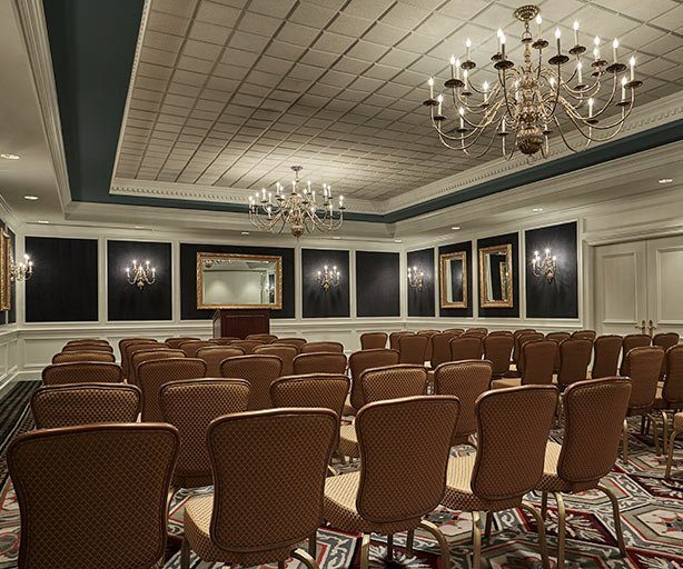 Chairs Set for Special Event in Regency Ballroom