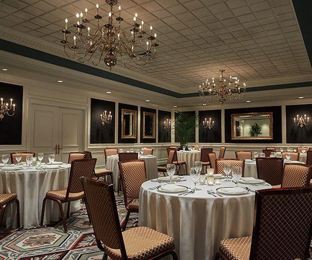 Table Settings at Graduate Ann Arbor Regency Ballroom