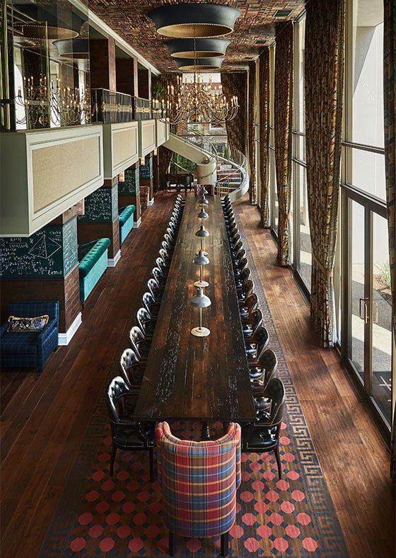 Graduate Ann Arbor's Lobby-Long Table