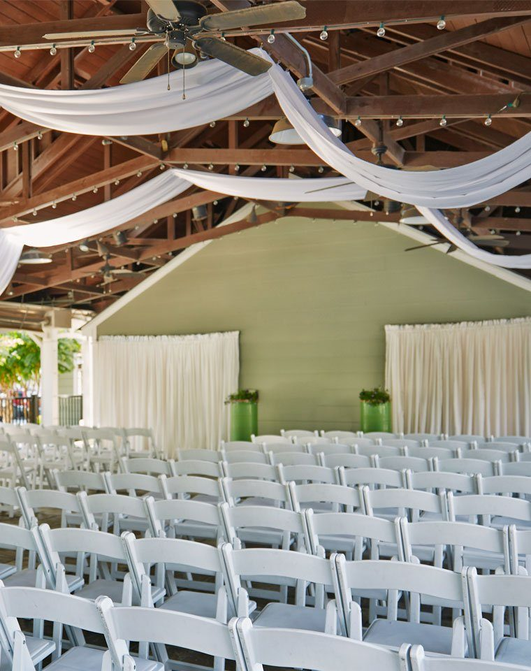 View of Graduate Athens Wedding ceremony event space