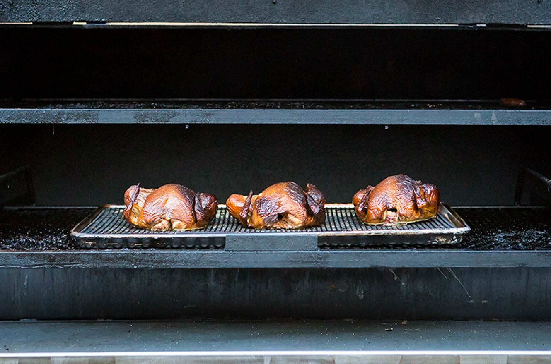 roasting turkeys in smoker