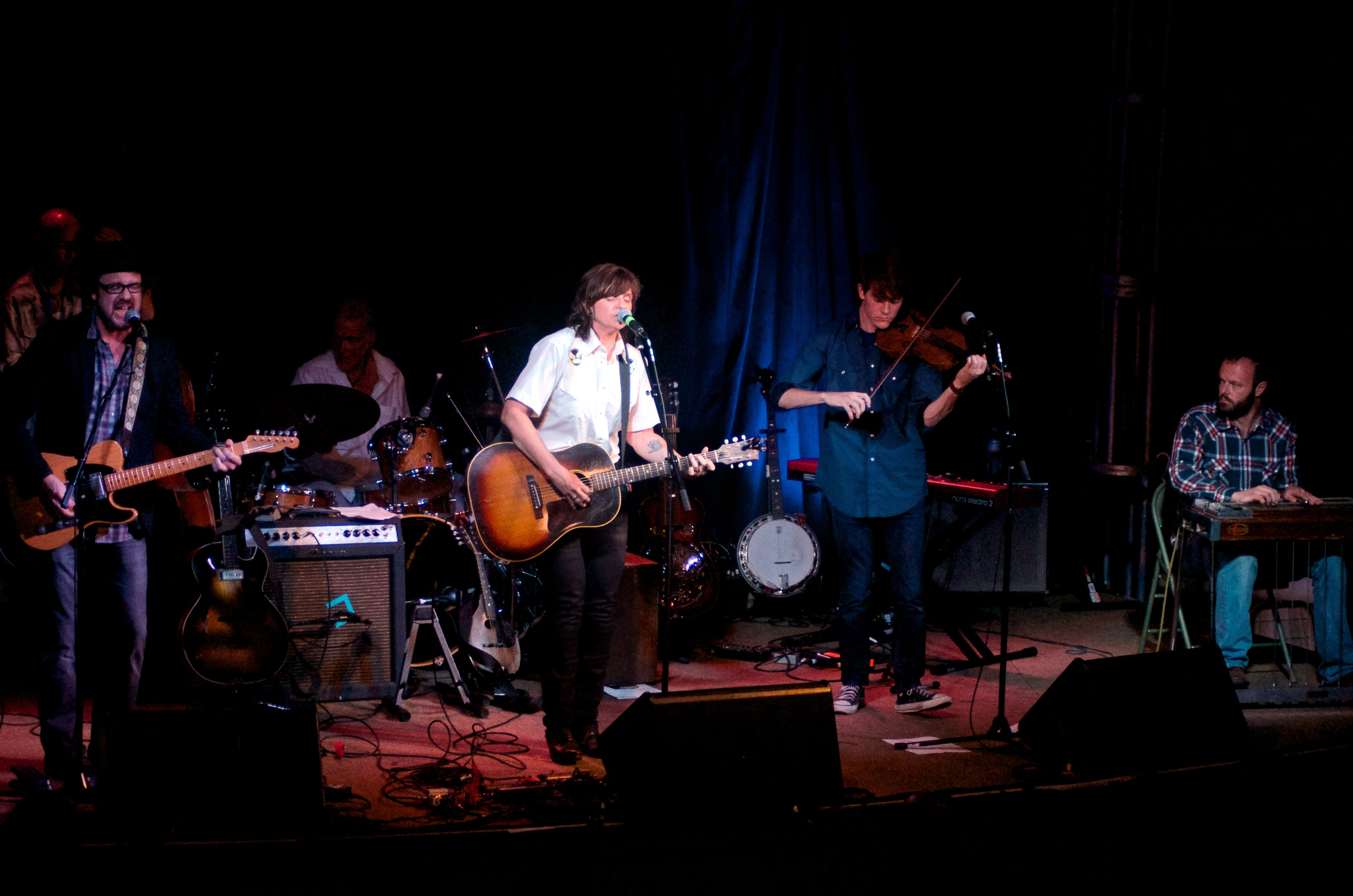 Amy Ray Live on Stage