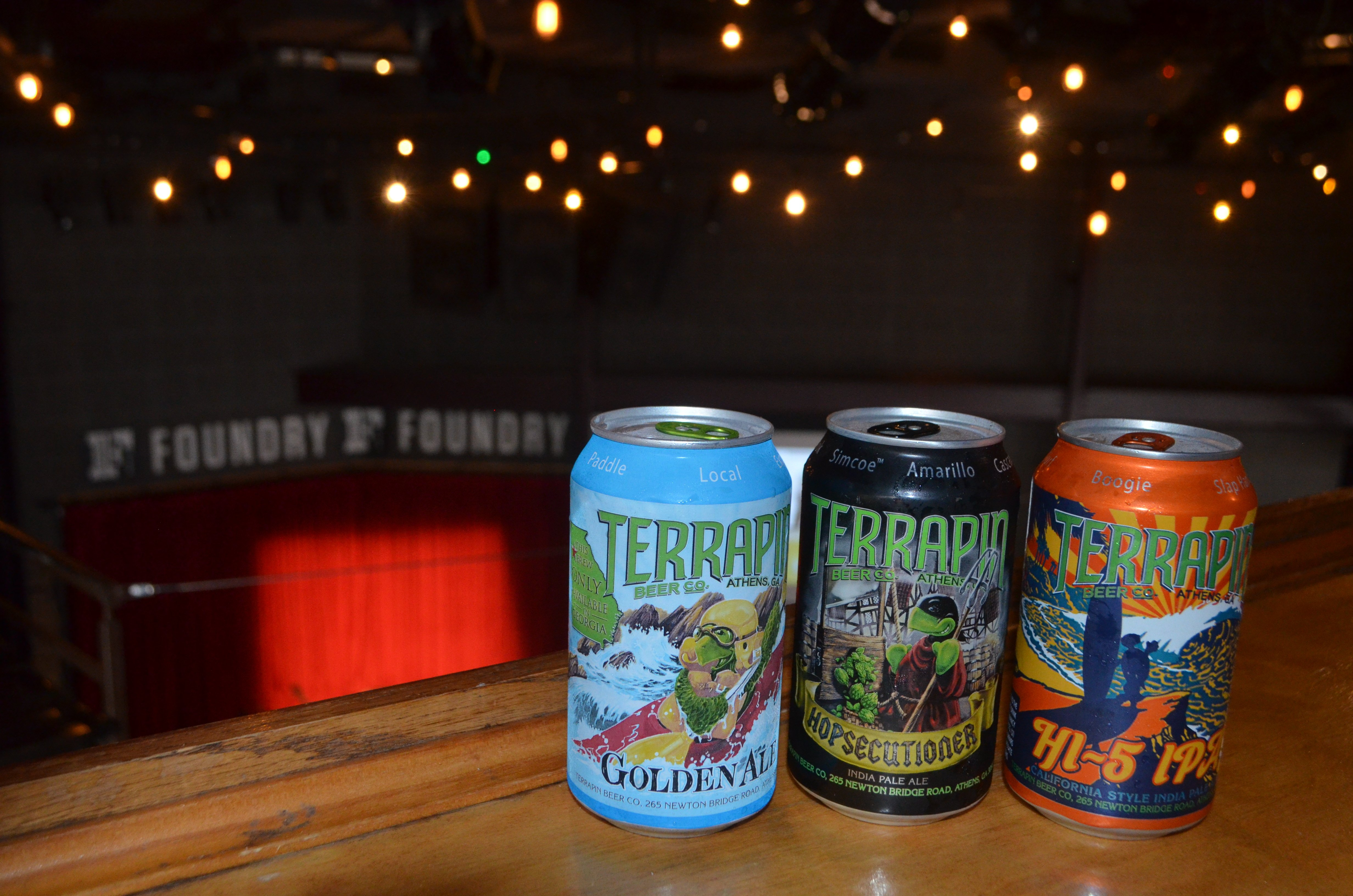 terrapin beers in the foundry