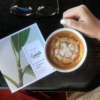 Coffee and spa info