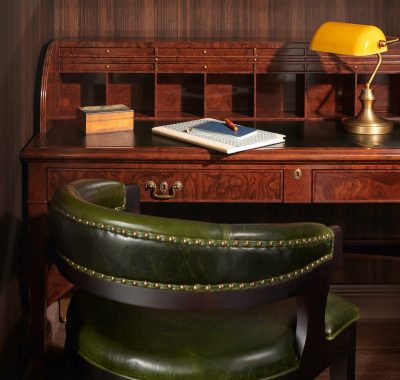 guestroom desk and chair