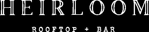 heirloom rooftop bar logo