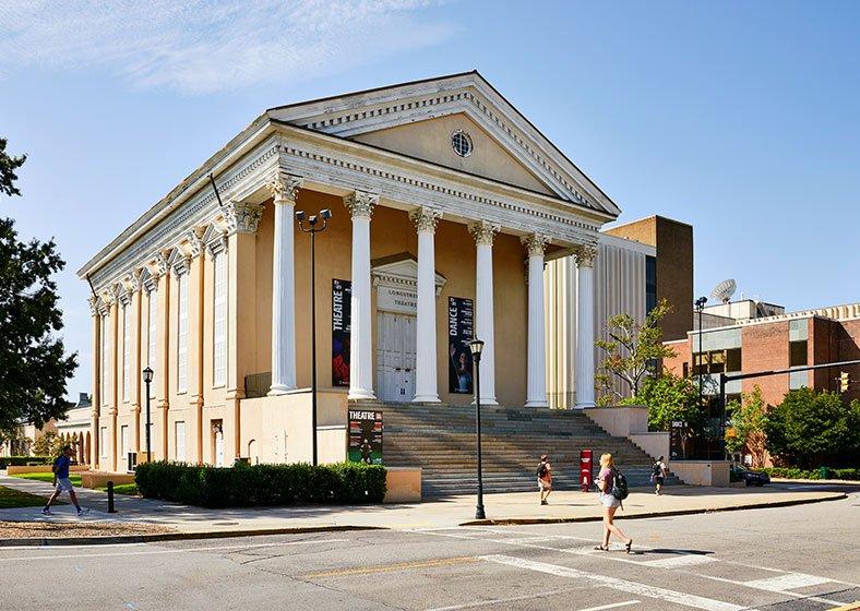 Longstreet Theatre building