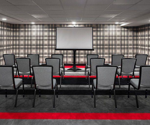 Projector in meeting room