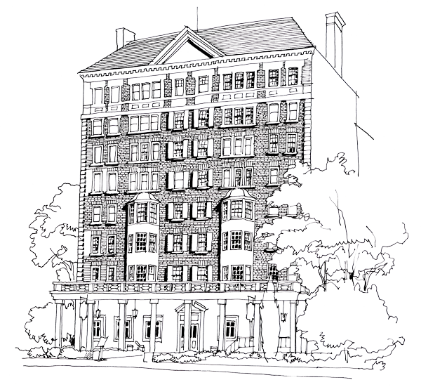 Artists Rendering of Graduate Evanston