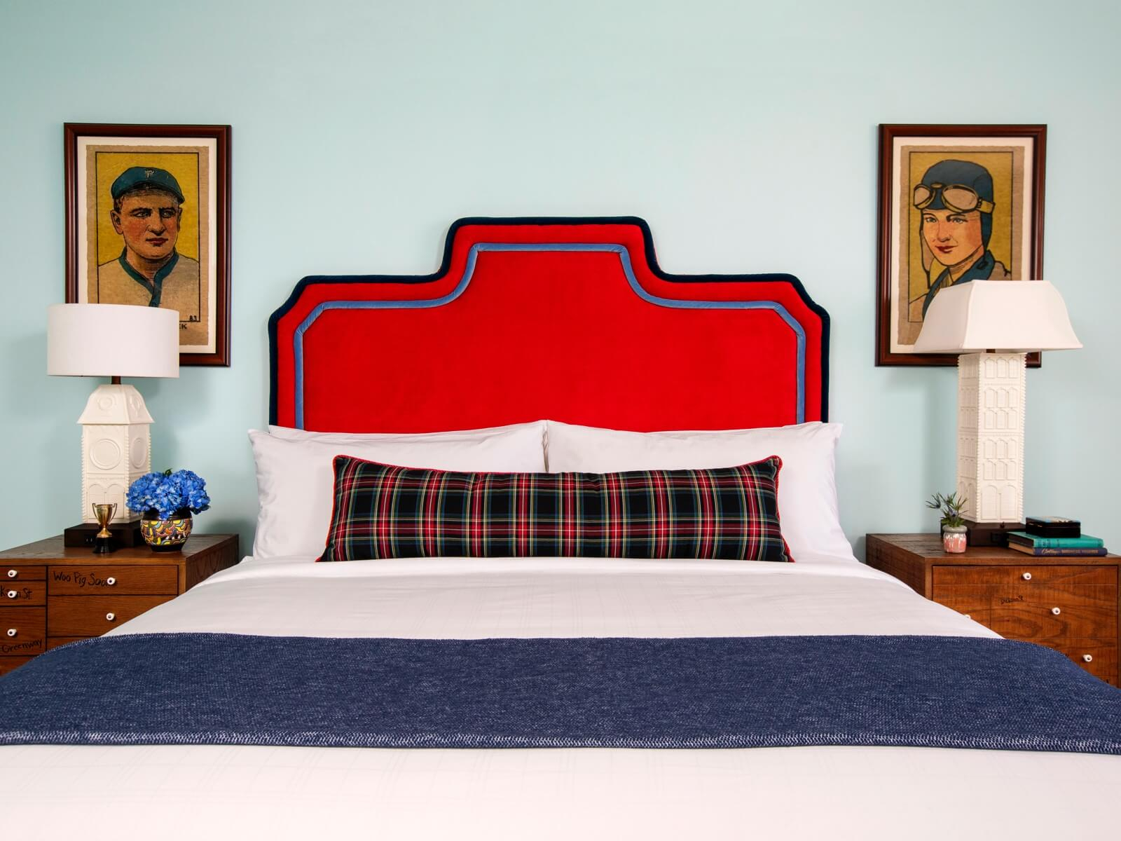 King Bed in Hotel Room