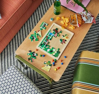 Graduate Iowa City Family Suite - game board on coffee table