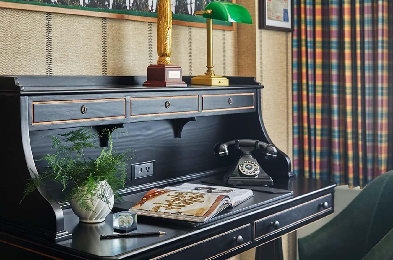 Desk in king suite