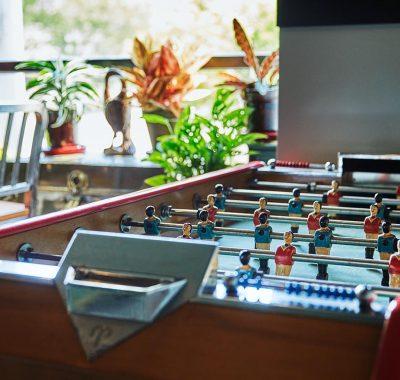 foosball table at graduate lincoln