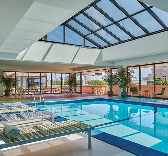 indoor pool at graduate lincoln