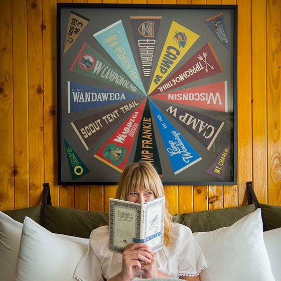 Relax With a Book At Graduate Madison Hotel