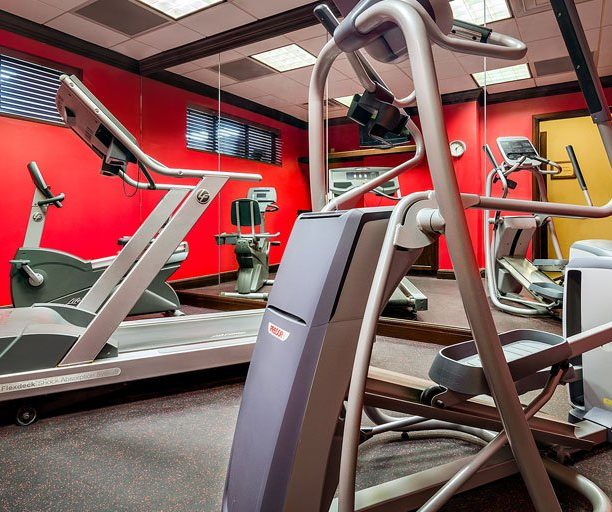 Fitness Center At Graduate Madison Hotel