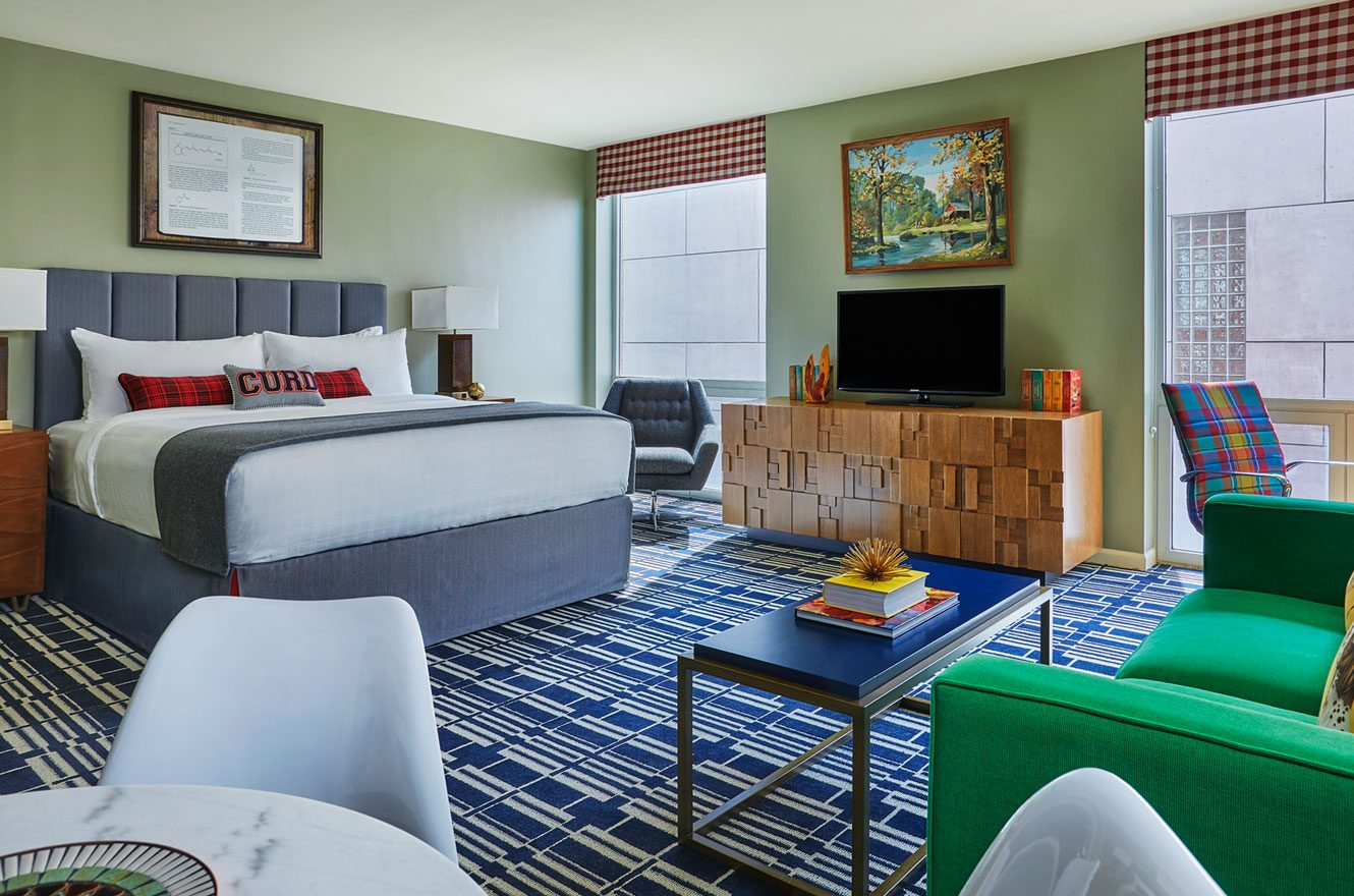 Campus Inspired Suite At Graduate Madison in Wisconsin