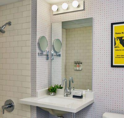 Bathroom At Graduate Madison Hotel
