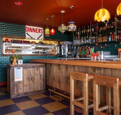 bar area in graduate madison