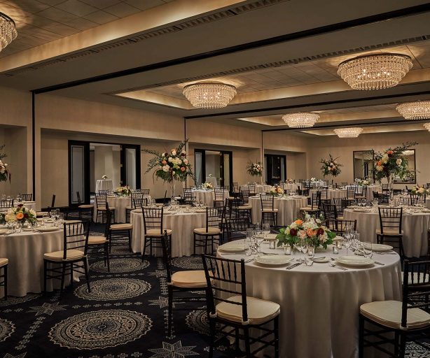 formal ballroom at graduate minneapolis