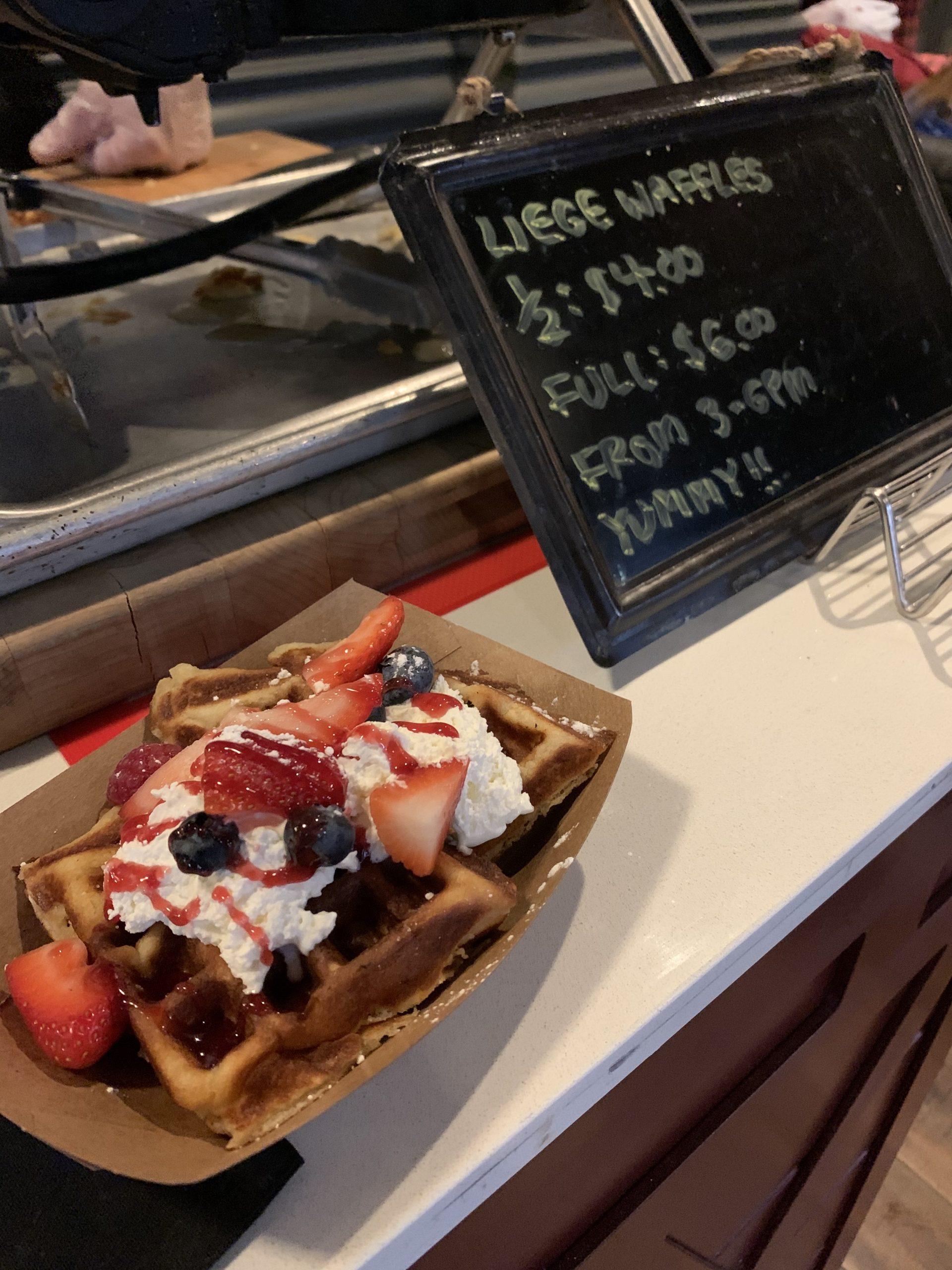 Sweet Treat Gourmet Waffle cart