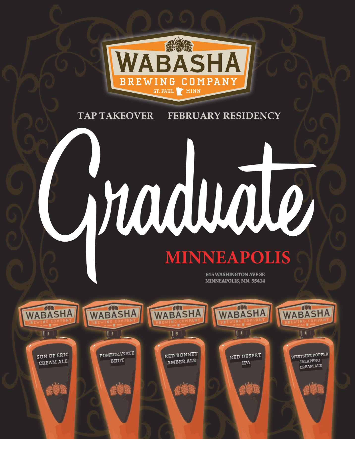 Wabasha Brewing Tap Takeover