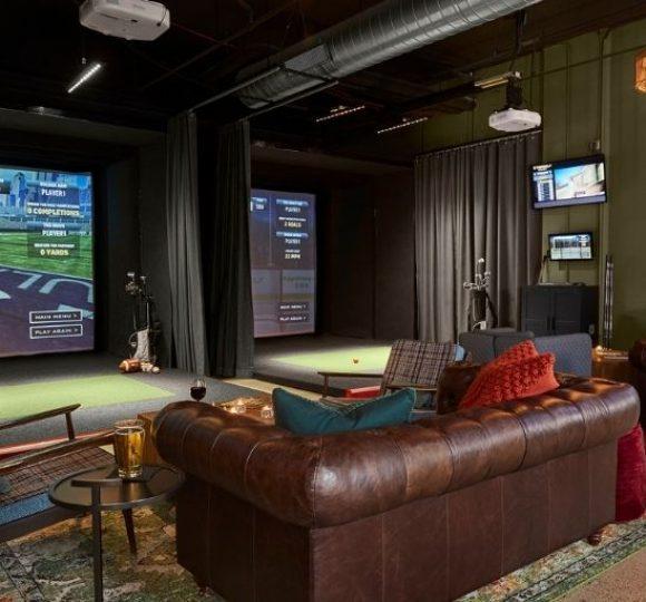 TopGolf Swing Suite at Graduate Minneapolis