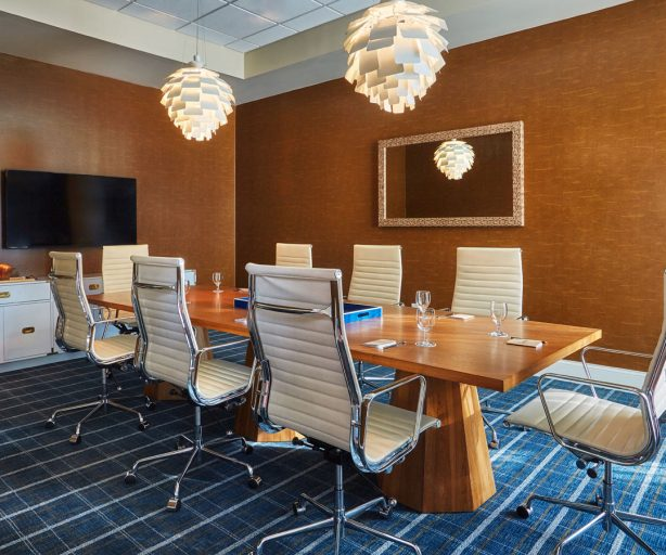 Elegant chairs at a Graduate boardroom