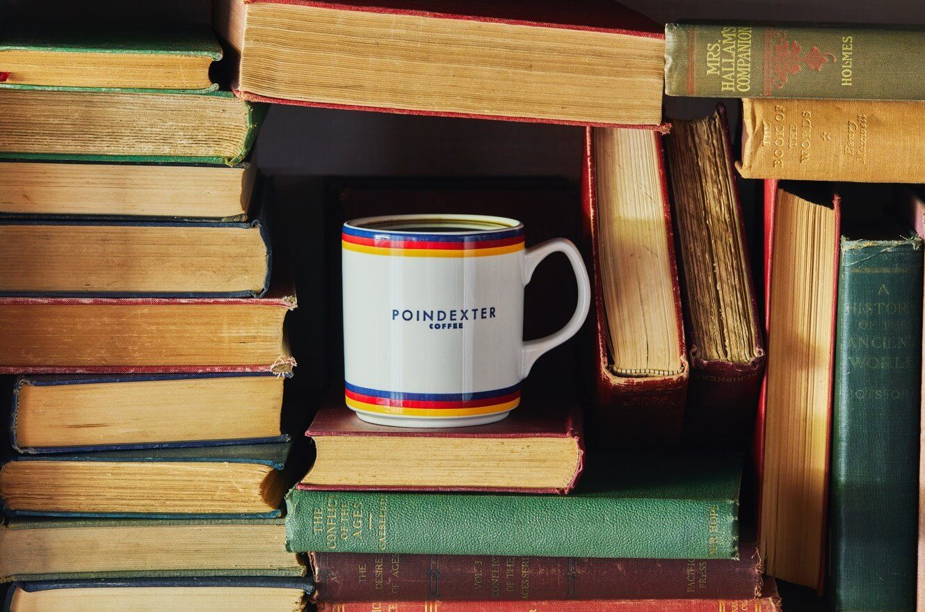 Poindexter coffee mug