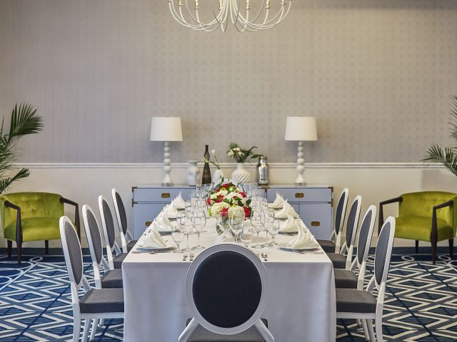 Event Room Table At The Graduate Oxford Hotel In Missippi
