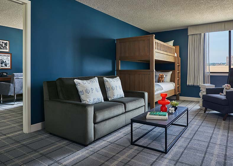 Family suite in Graduate Richmond