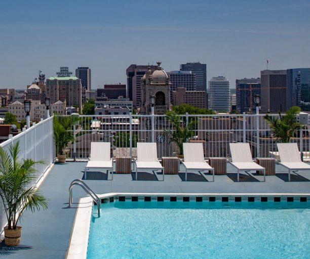 Graduate Richmond Rooftop Pool