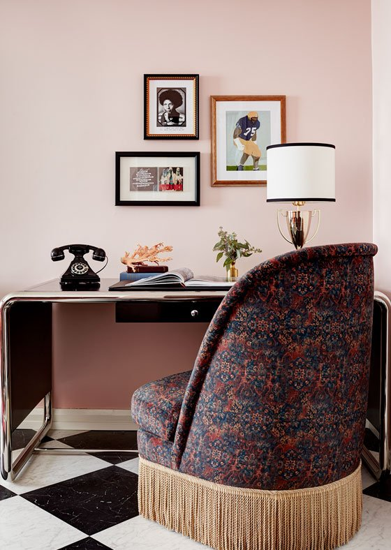 workstation with chair at graduate seattle