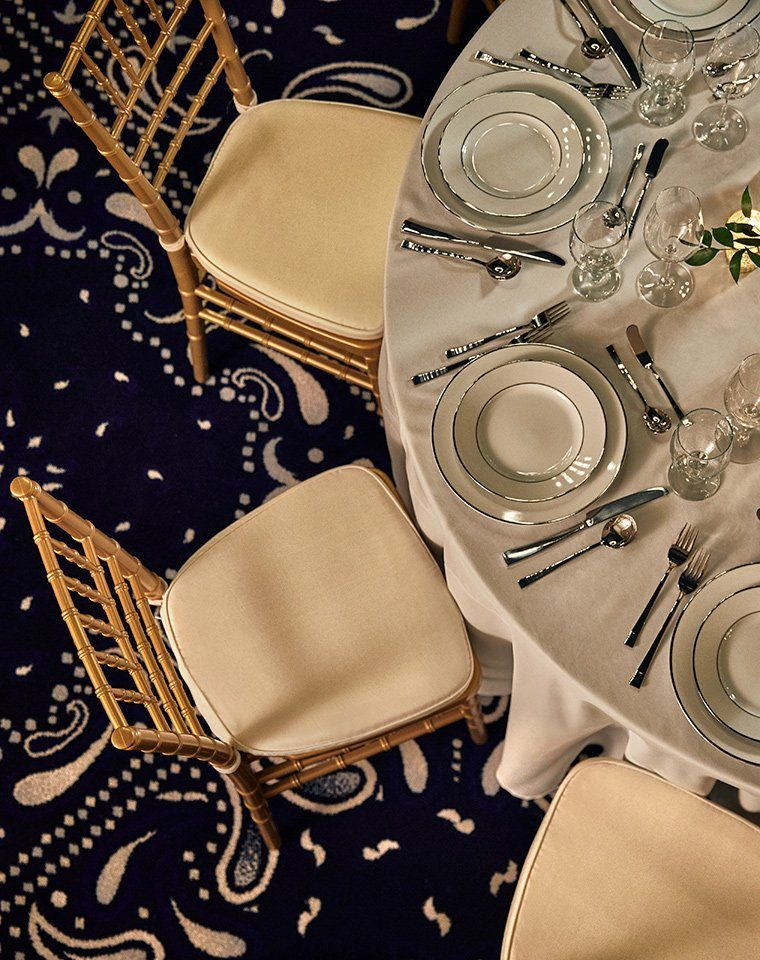 formal dining table and chair