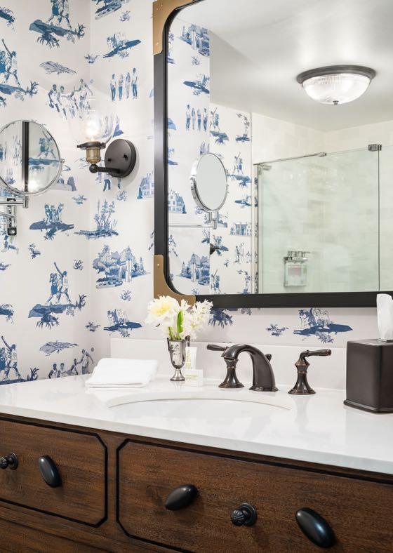 Graduate Bathroom Sink and Mirror