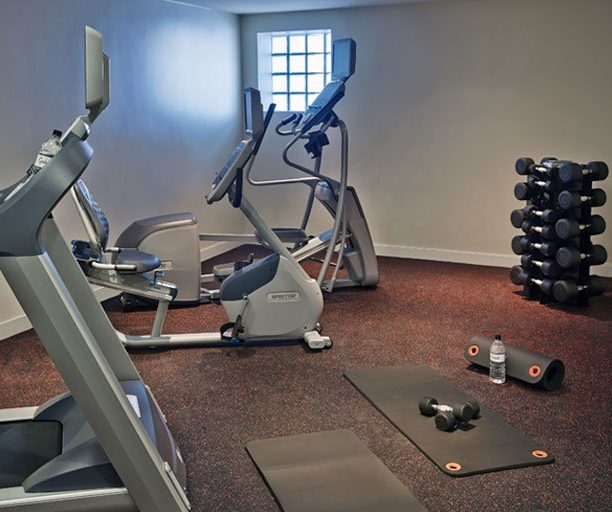 Graduate Tempe fitness center with ellipticals