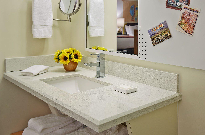 Bathroom sink at Graduate Tempe