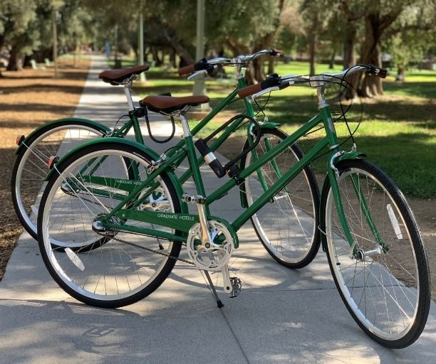 complementary bikes at Graduate Tucson
