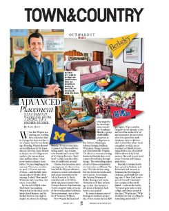 town & country magazine article