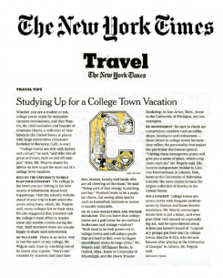 new york times travel article