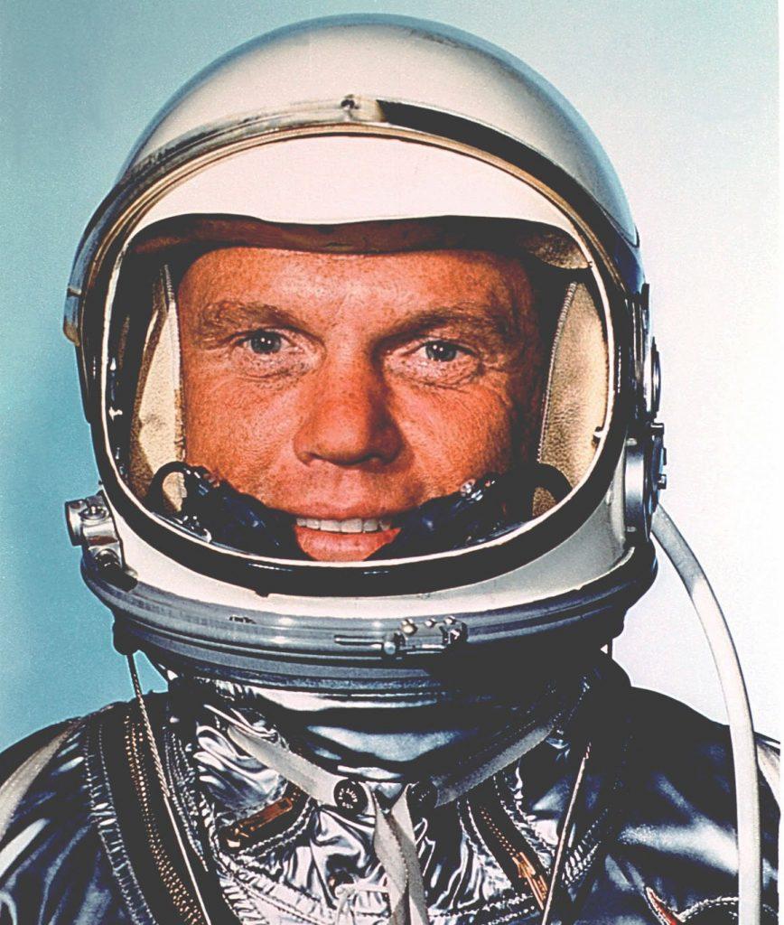 Astronaut John Glenn