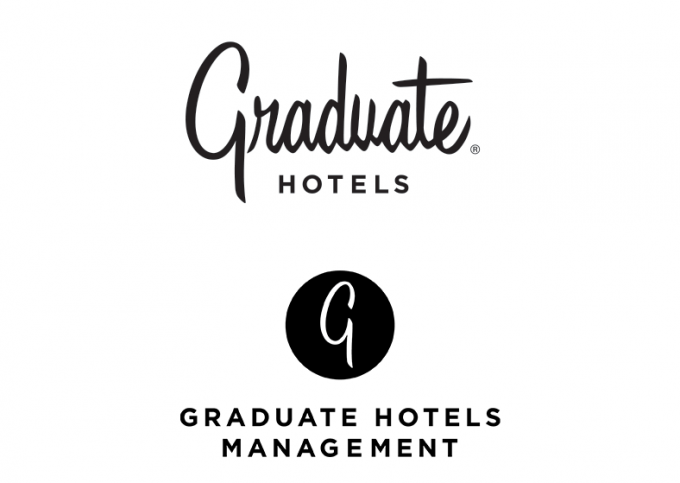 Graduate Hotels Management and Graduate Hotels logos